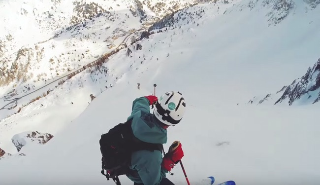 Powder mountain video cover