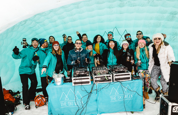 Not everyone can ski, but EVERYONE can Aprés-ski