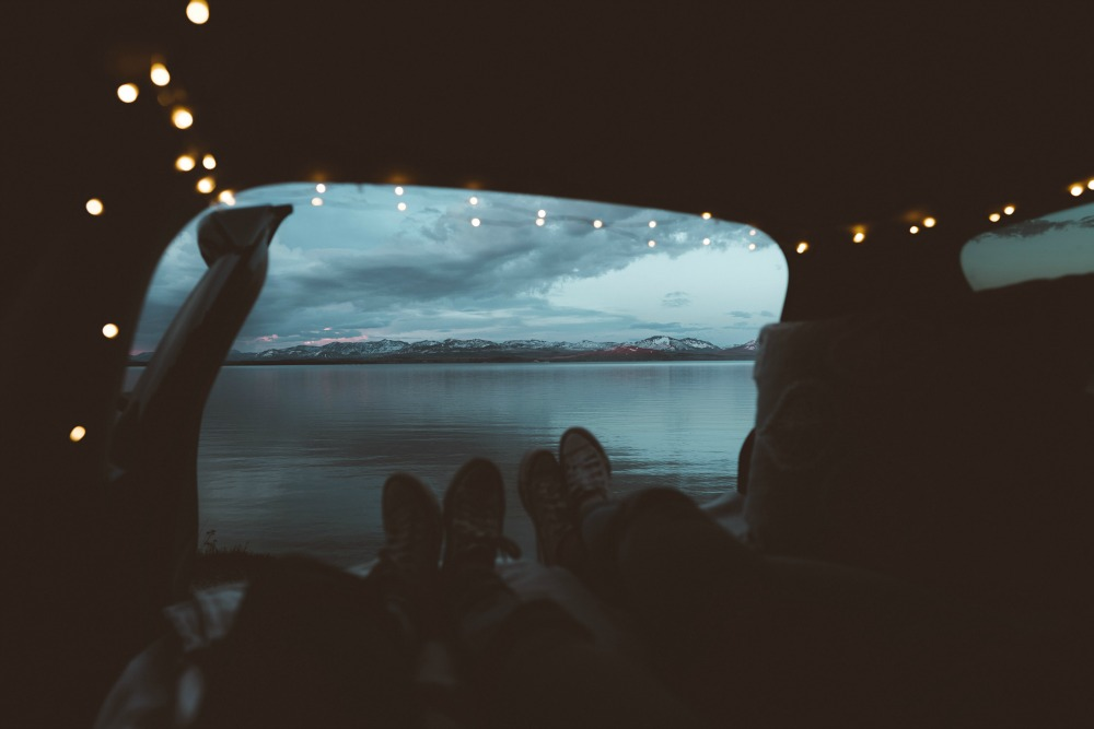 Van life lake view CREDIT Photo by Katie Drazdauskaite on Unsplash_picmonkeyed