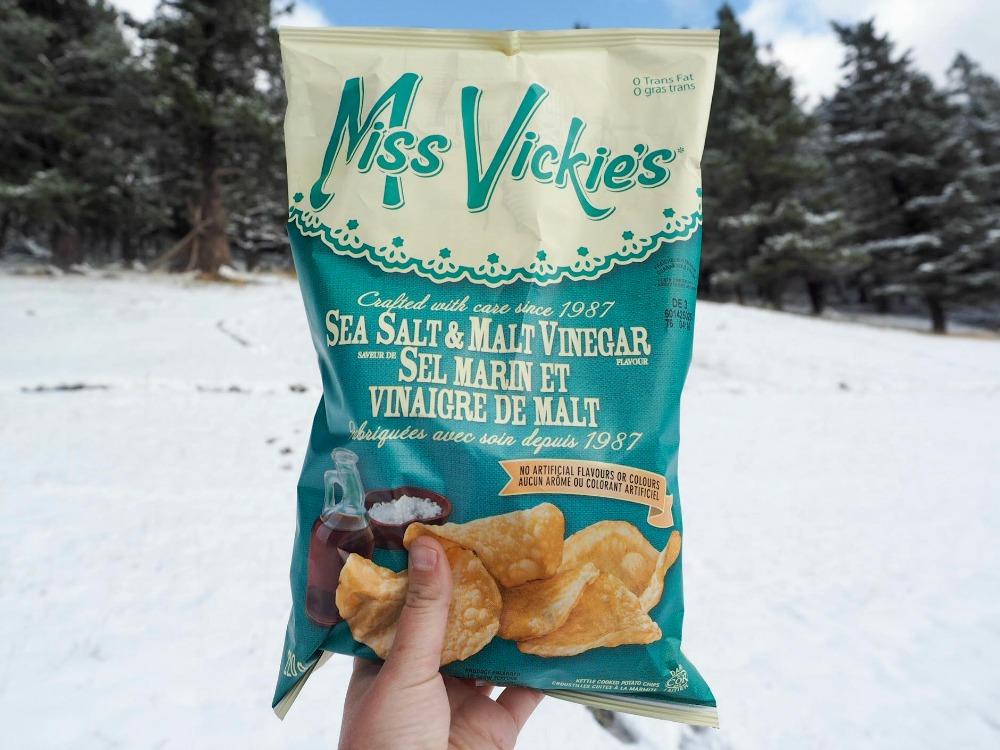 Road trip snacks Miss Vickie_s crisps CREDIT Samantha Reid @Samanthalreid_picmonkeyed