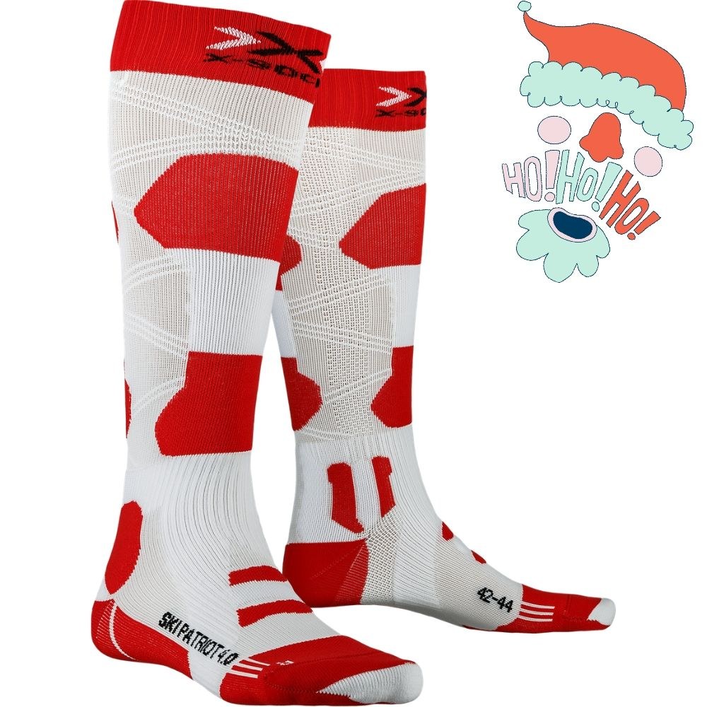 Gifts for skiers X-SOCKS® SKI PATRIOT 4.0 AUSTRIA CREDIT X-Bionic