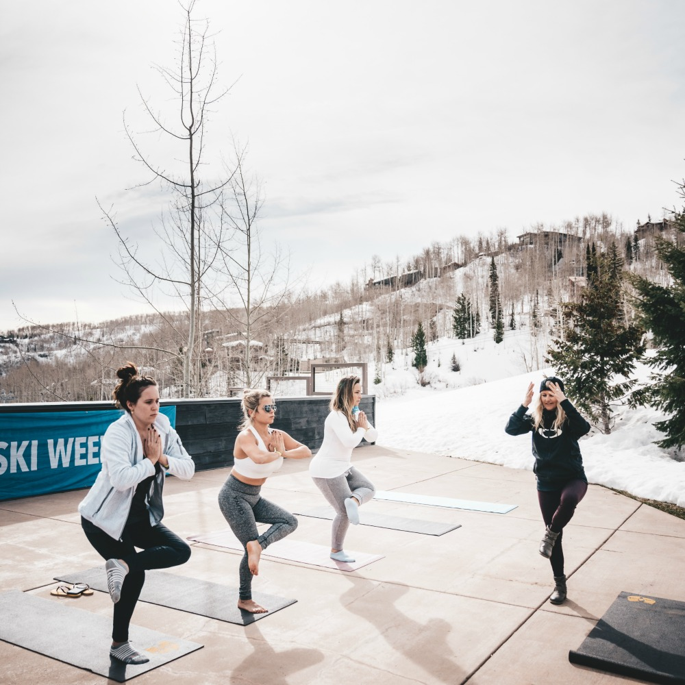 The Ski Week Aspen explained yoga CREDIT Brendan Paton_picmonkeyed