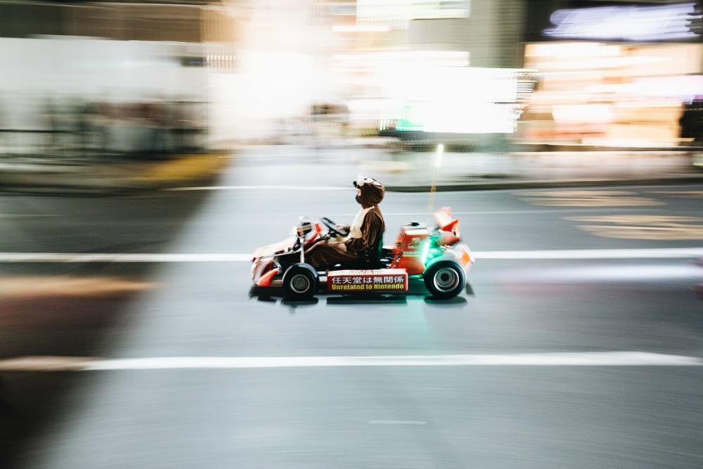 Trip to Tokyo Mario Kart CREDIT The Ski Week