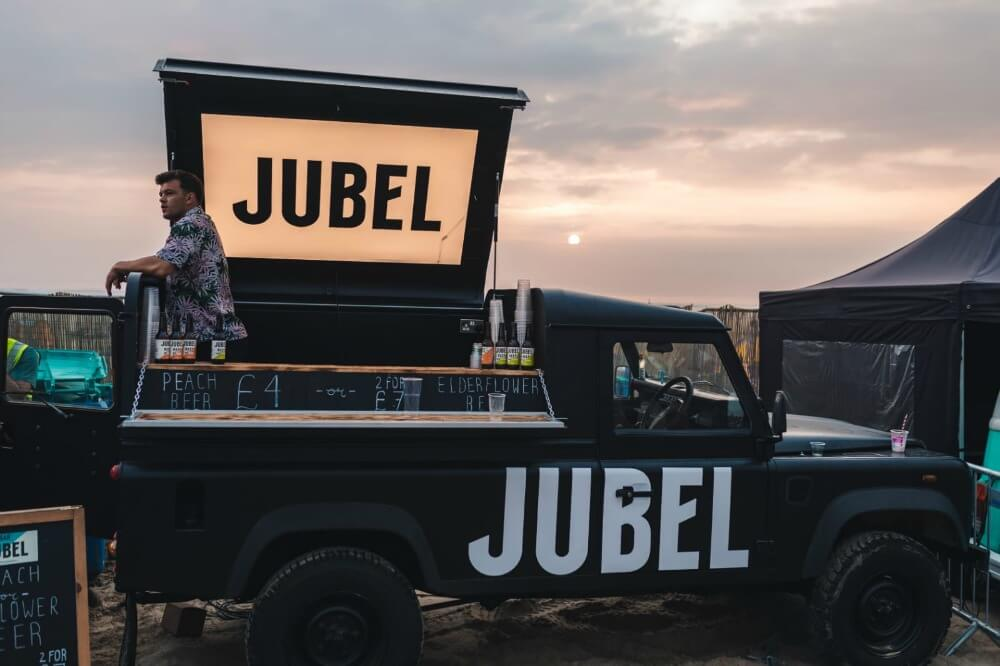 Jubel Beer land rover CREDIT Jubel