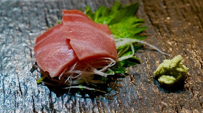 Niseko restaurants Rakuichi sashimi CREDIT Rakuichi